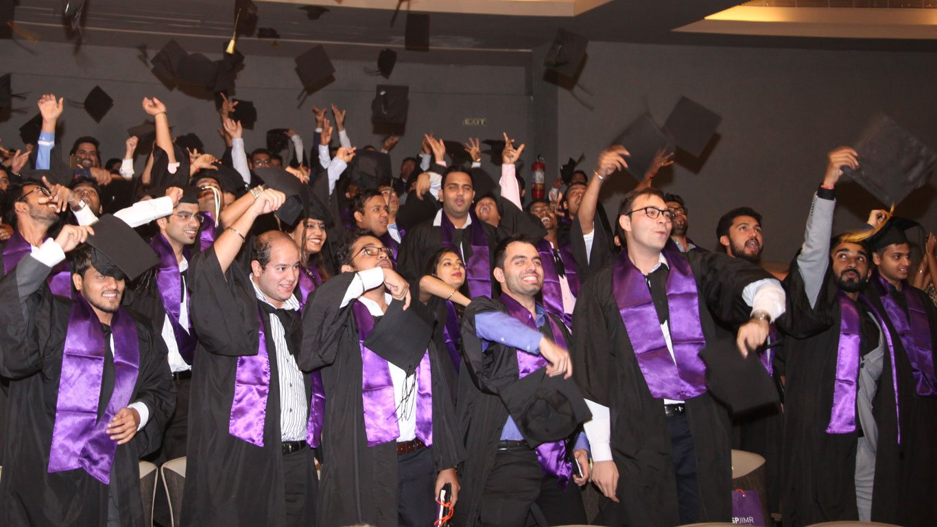 FMB, SPJIMR, Graduation, Convocation, 2017