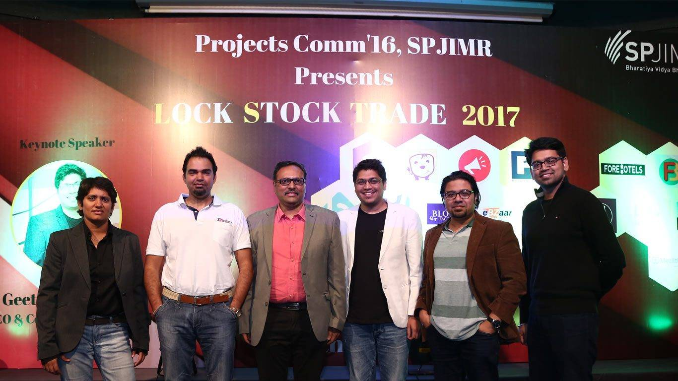 LST, SPJIMR, Projects committee, SPJain, Startups