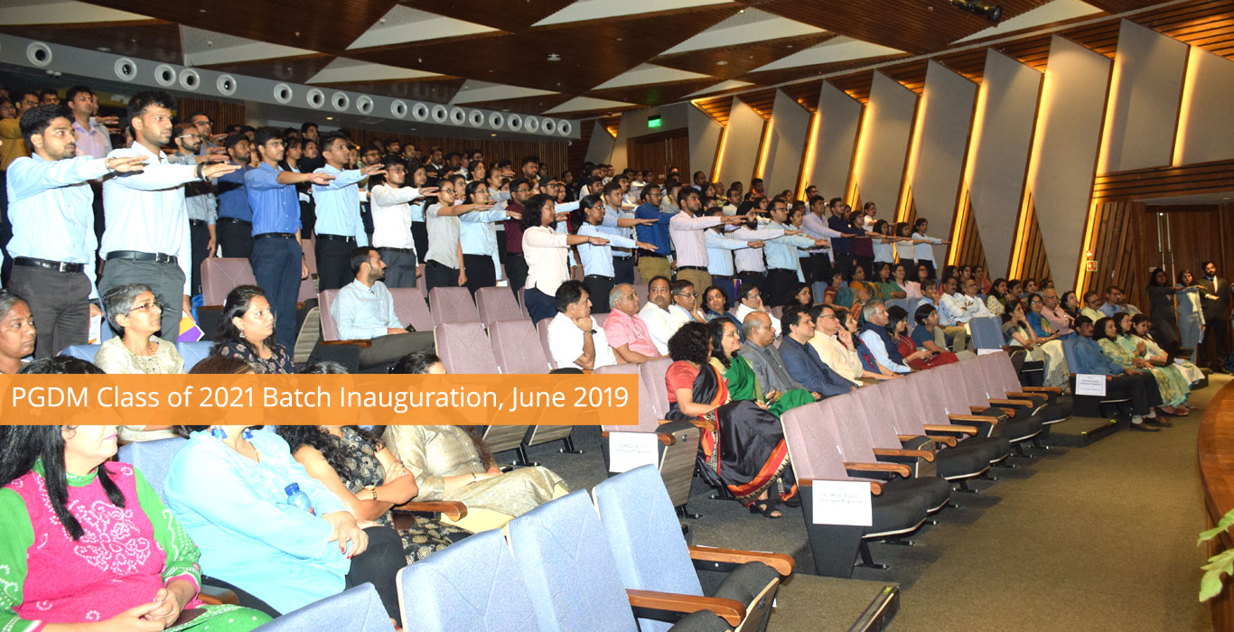 PGDM Batch Inauguration 2021