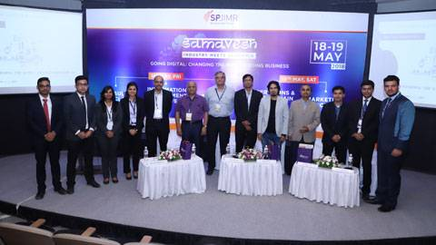 Speakers at Samavesh 2018